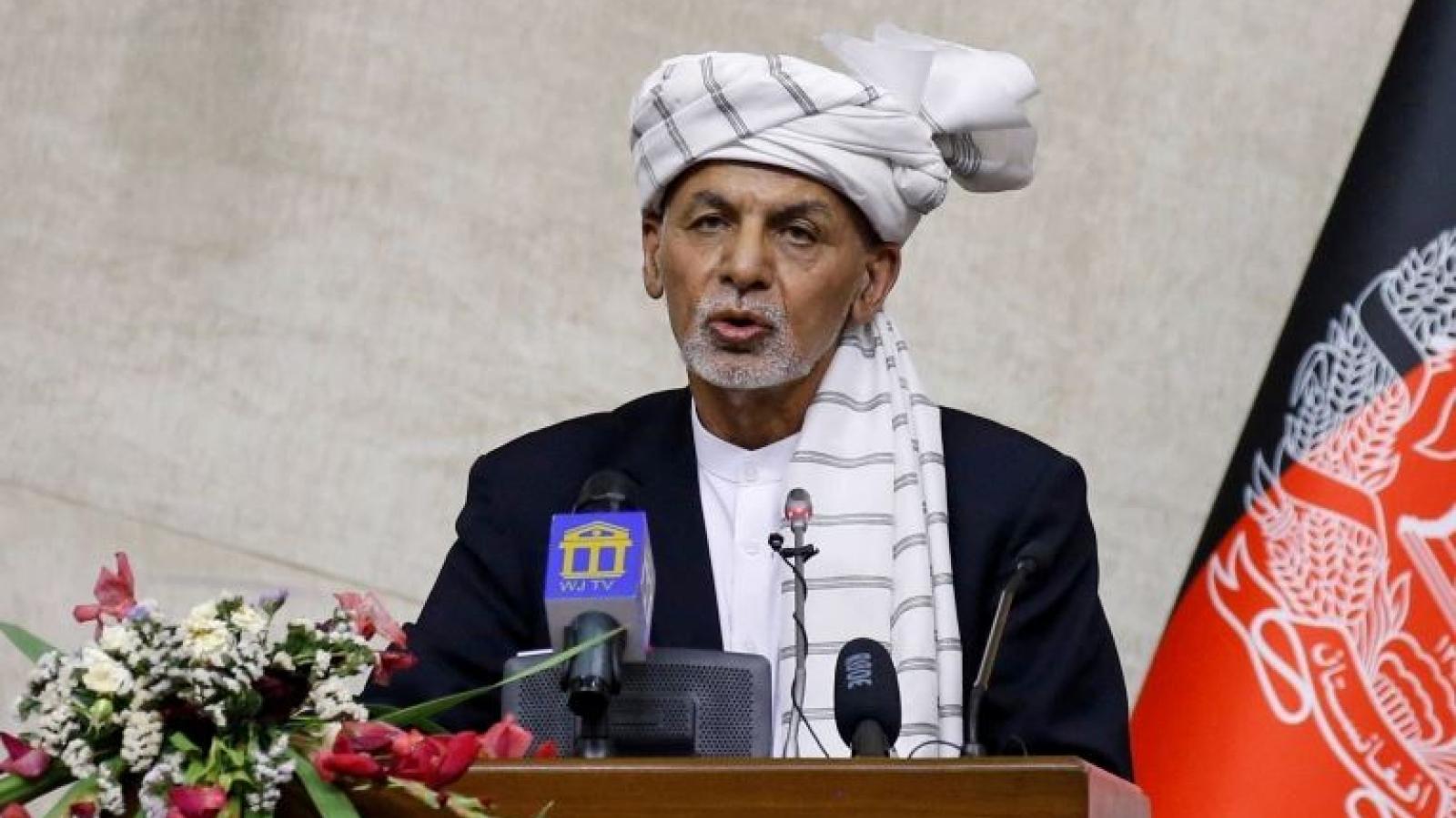 Tổng thống Ghani nêu điều kiện từ bỏ quyền lực trước khi rời Afghanistan