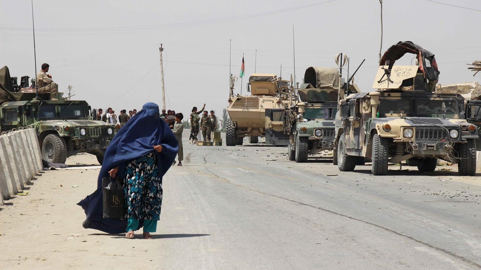 Kịch bản bóng ma cuộc nội chiến tái hiện ở Afghanistan