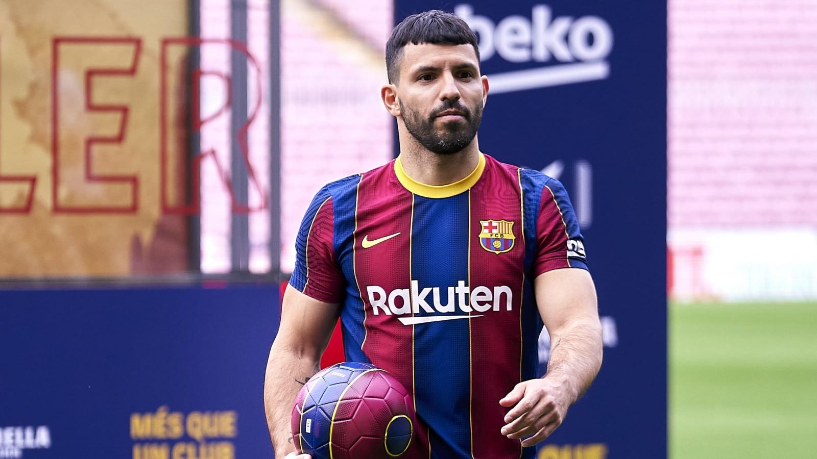 Barca vẫn chưa đăng ký Aguero vào danh sách tham dự La Liga
