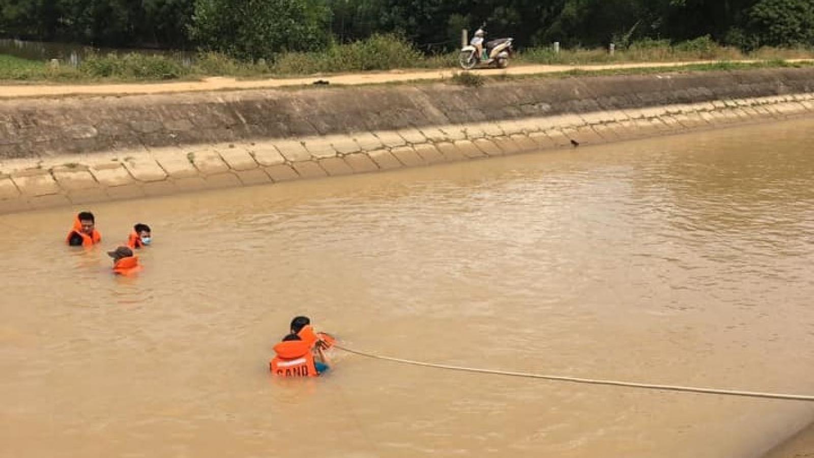 Phát hiện thi thể một phụ nữ dưới sông ở Nghệ An