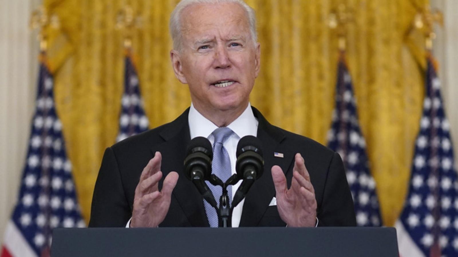 Tổng thống Joe Biden tuyên bố không kéo dài thời hạn rút quân đội Mỹ khỏi Afghanistan
