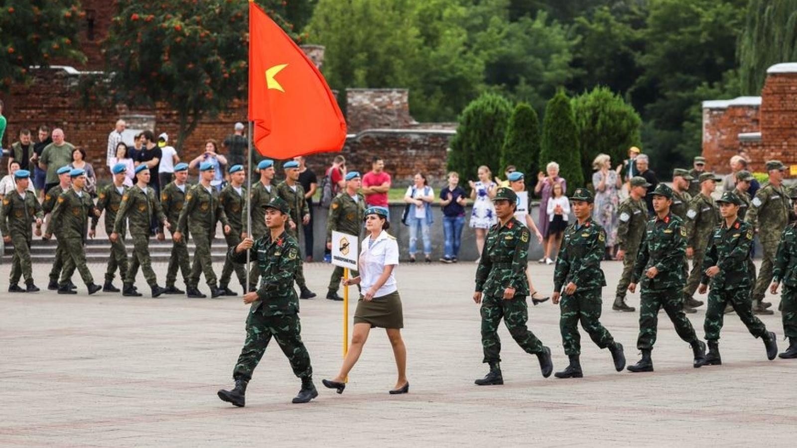 Việt Nam đăng cai tổ chức 2 nội dung của Army Games 2021