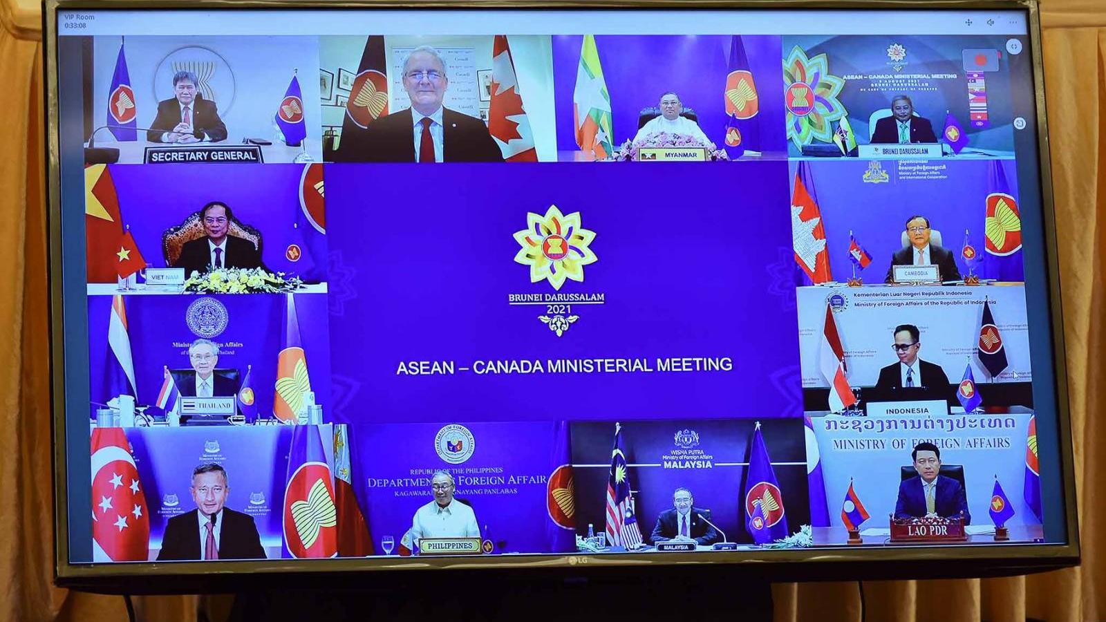 Bộ trưởng Ngoại giao Bùi Thanh Sơn dự Hội nghị Bộ trưởng Ngoại giao ASEAN-Canada
