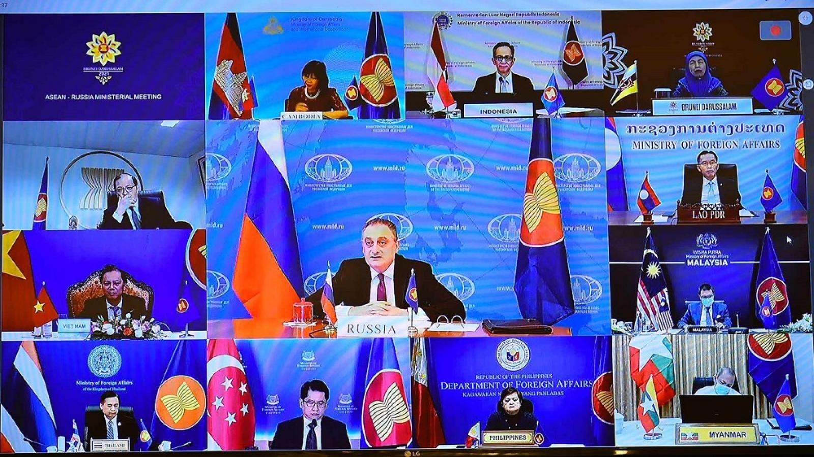 Hội nghị Bộ trưởng Ngoại giao ASEAN – Nga