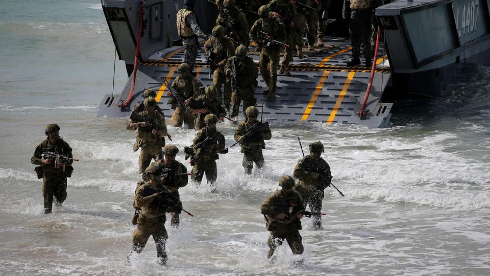 Hải quân Australia tham gia tập trận Malabar với Nhóm Bộ Tứ