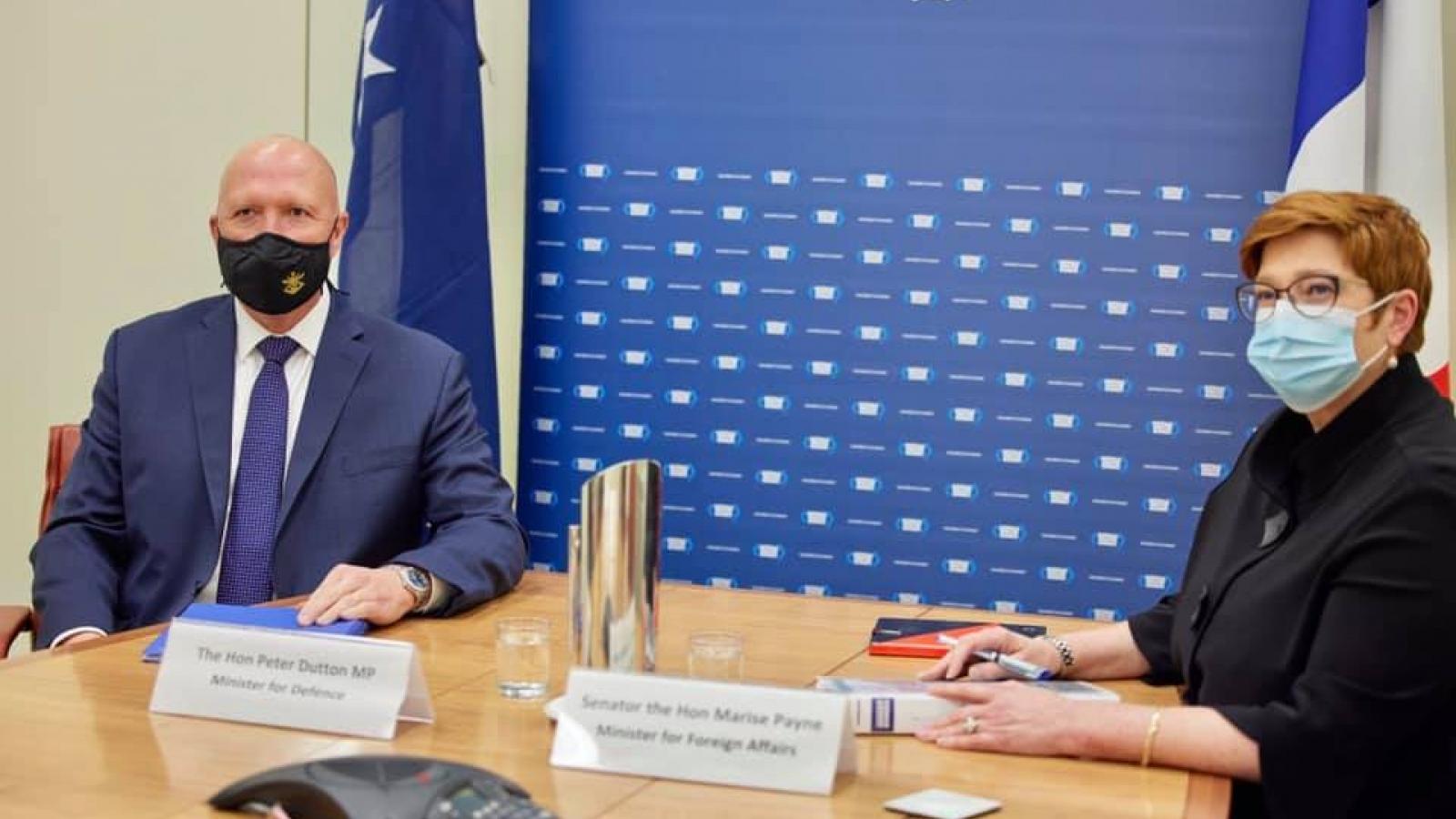 Australia và Pháp quan ngại về tình hình Biển Đông, phản đối hành động gây bất ổn