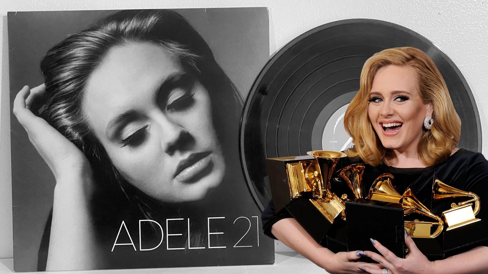 """Album """"21"""" của Adele vẫn """"xuất sắc nhất mọi thời đại"""" sau 10 năm ra mắt"""