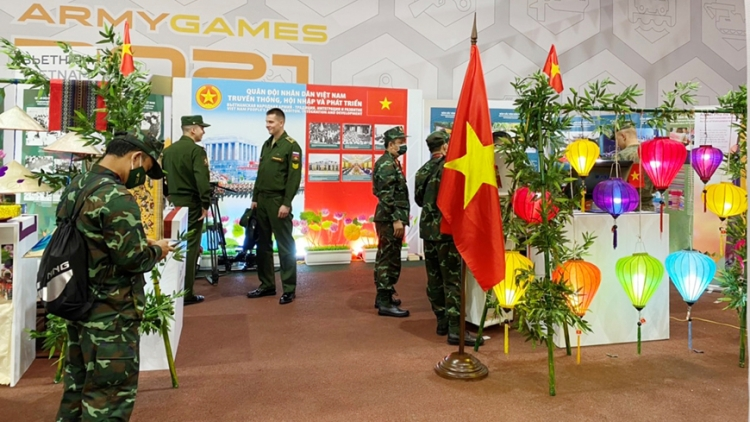 Vietnamese pavilion at Army Games' Friendship House attracts many visitors