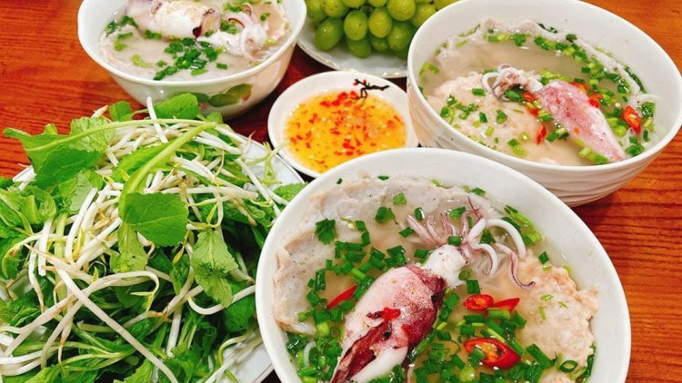A common breakfast dish on Phu Quoc Island