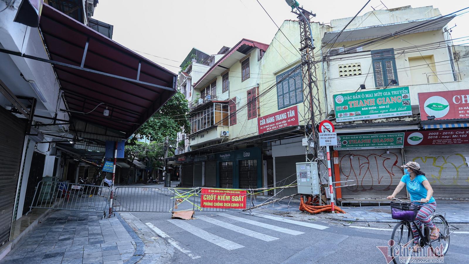Unprecedented images in Hanoi Old Quarter