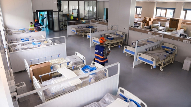 Largest field hospital in Hanoi to be inaugurated on Sept. 1