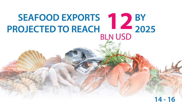 Seafood exports expected to reach US$12 billion by 2025