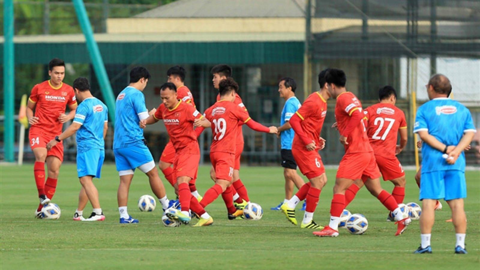 National team to play friendlies against U22s