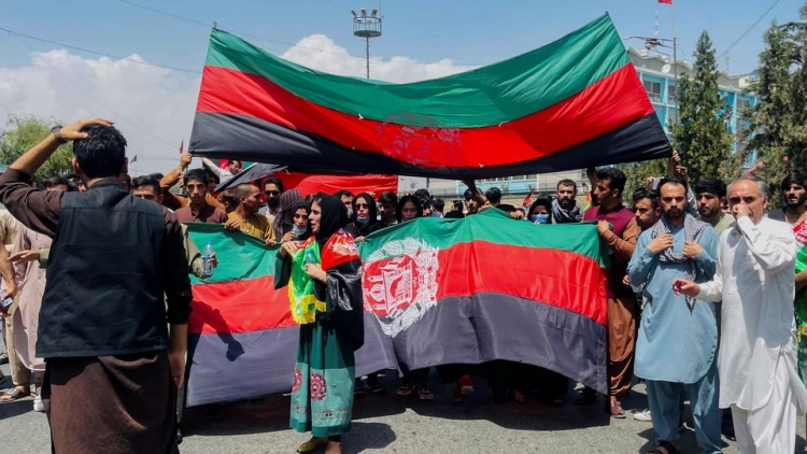 Ảnh: Làn sóng biểu tình phản đối Taliban lan rộng ở Afghanistan