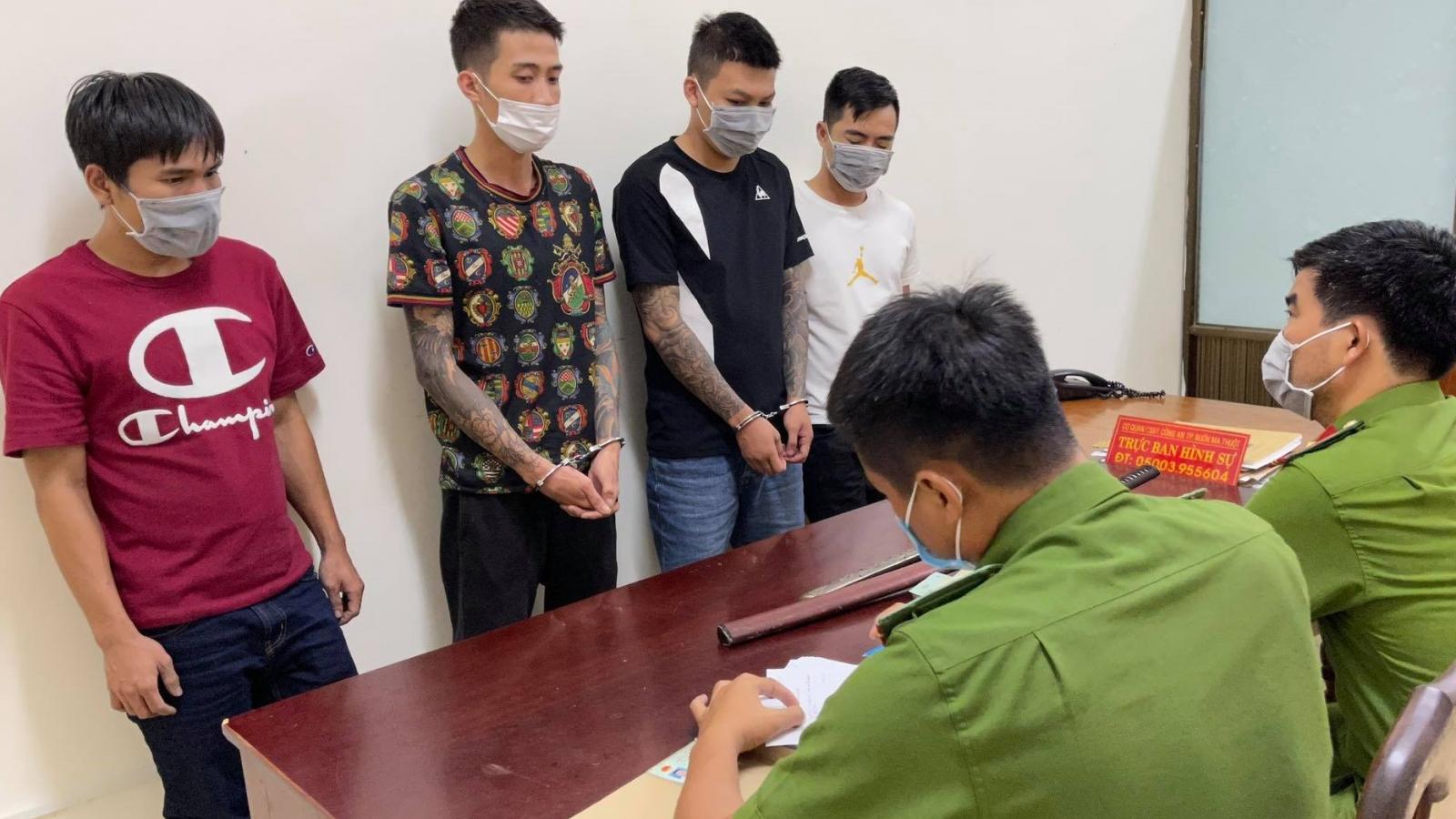 Đắk Lắk xử lý nhóm đối tượng bắt giữ người trái phép, ép đòi 300 triệu đồng