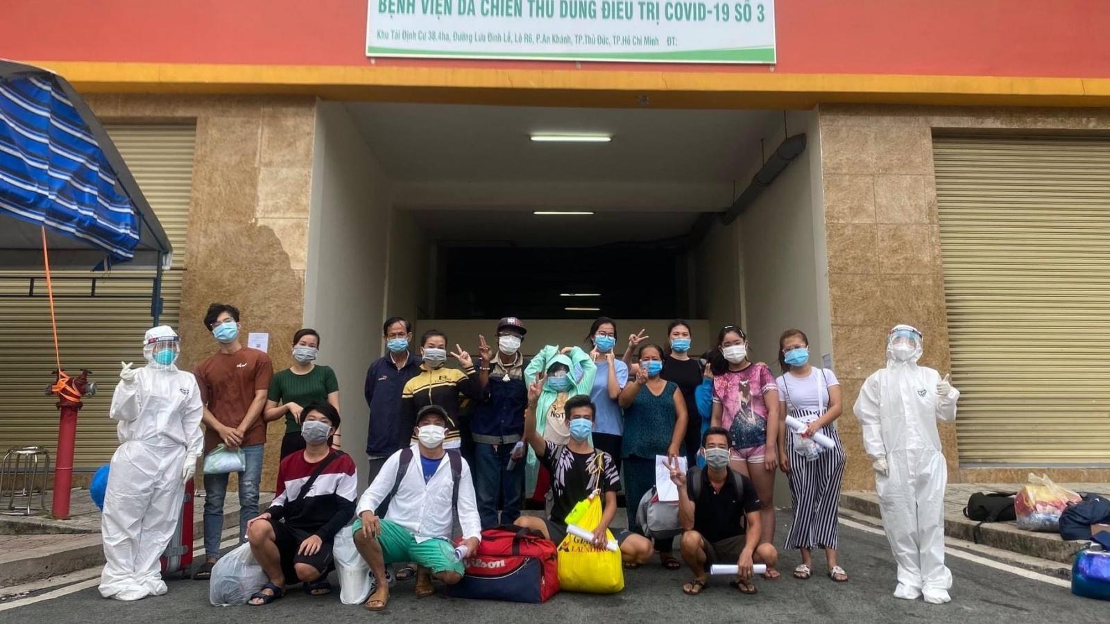 3.800 bệnh nhân Covid-19 ở Bệnh viện Dã chiến số 3 TP.HCM xuất viện