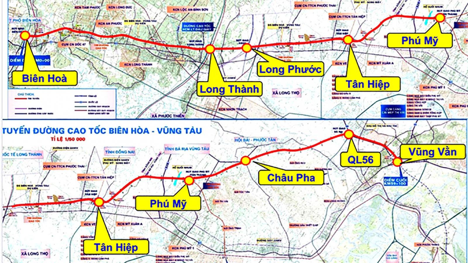 Phó Thủ tướng yêu cầu rà soát nội dung Dự án cao tốc Biên Hòa - Vũng Tàu