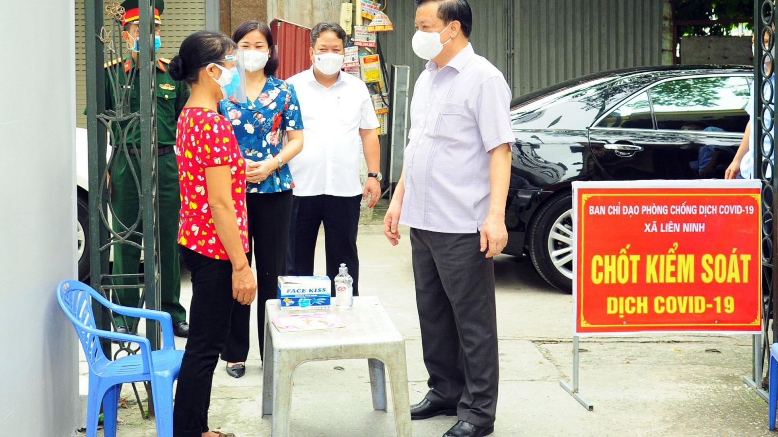 """Bí thư Thành ủy Hà Nội: Giãn cách xã hội phảithực chất, kiểm soát chặt từ """"gốc"""""""