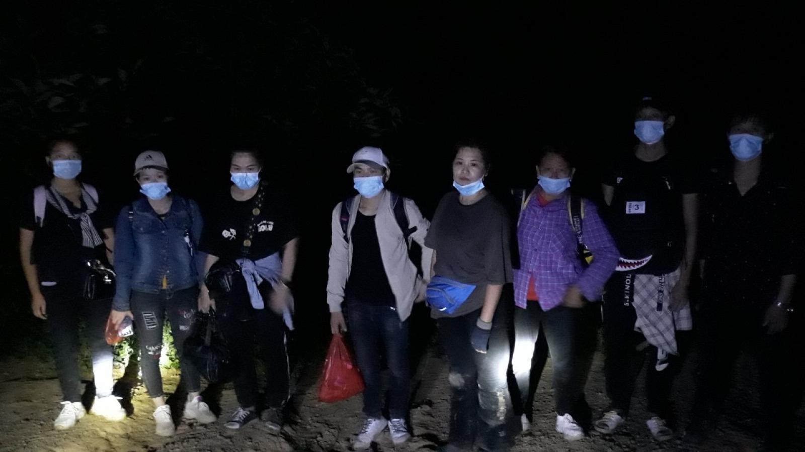 Cao Bằng phát hiện 8 người người nhập cảnh trái phép từ Trung Quốc