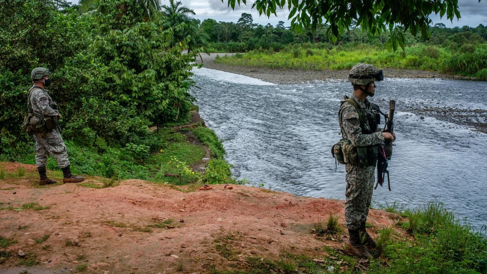 Bất ngờ về lực lượng lính đánh thuê hùng hậu xuất thân từ Colombia
