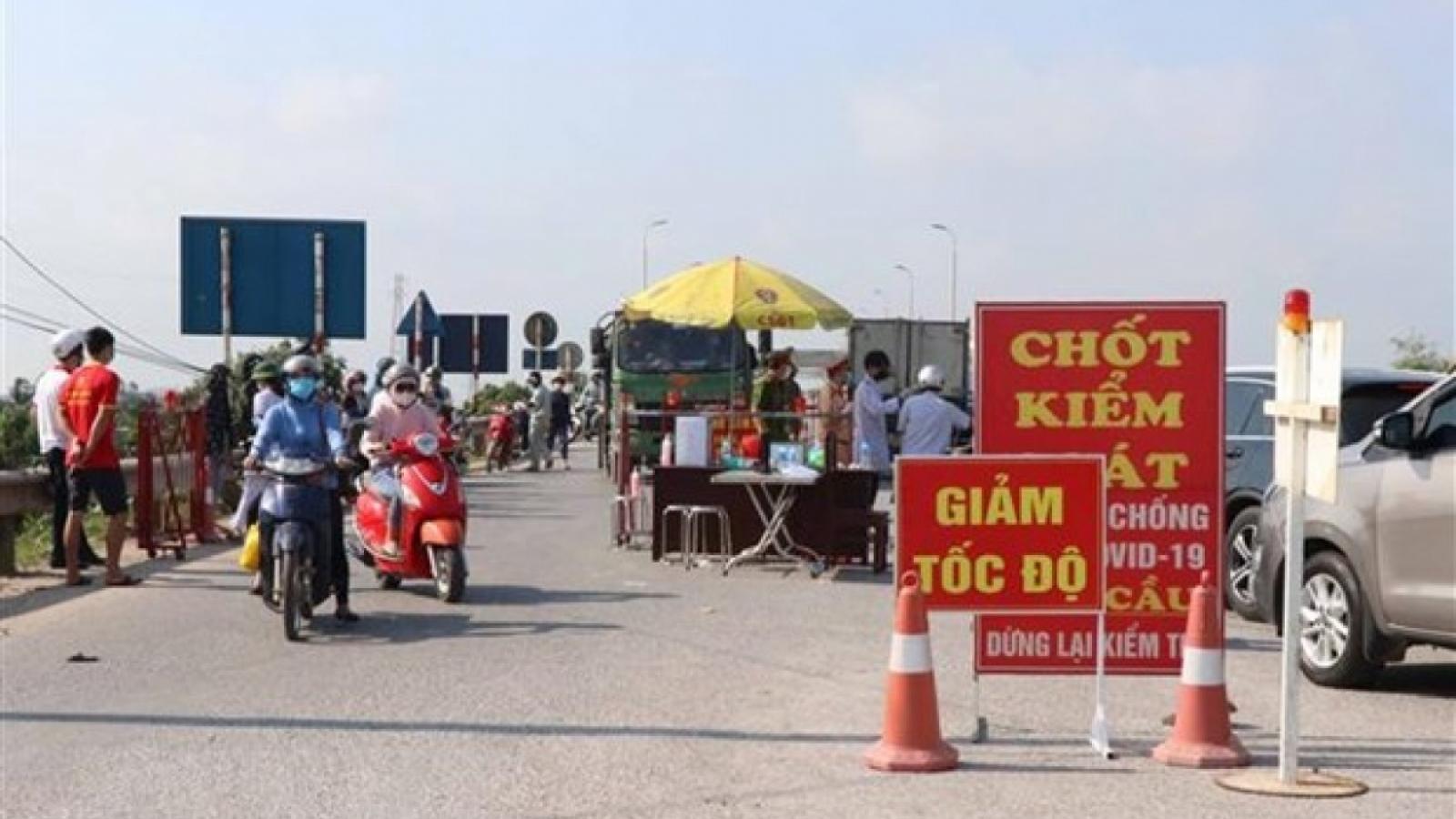 Bắc Ninh: Cách ly y tế toàn huyện Lương Tài trong 14 ngày