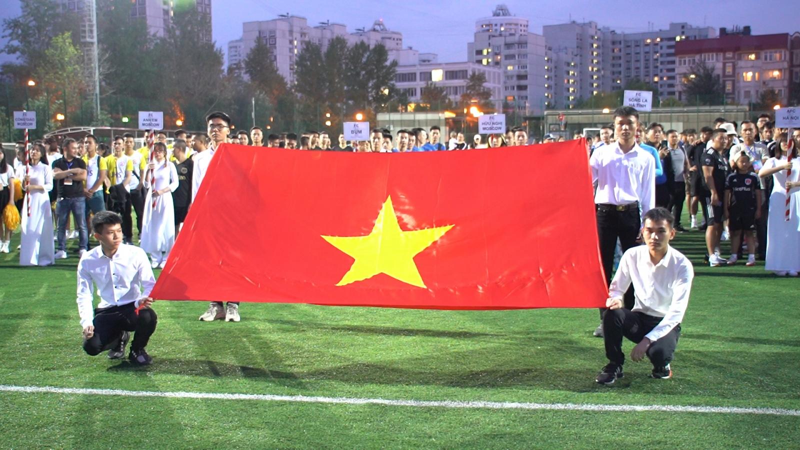 Bế mạc Giải bóng đá đoàn kết cộng đồng 2021 tại Liên bang Nga