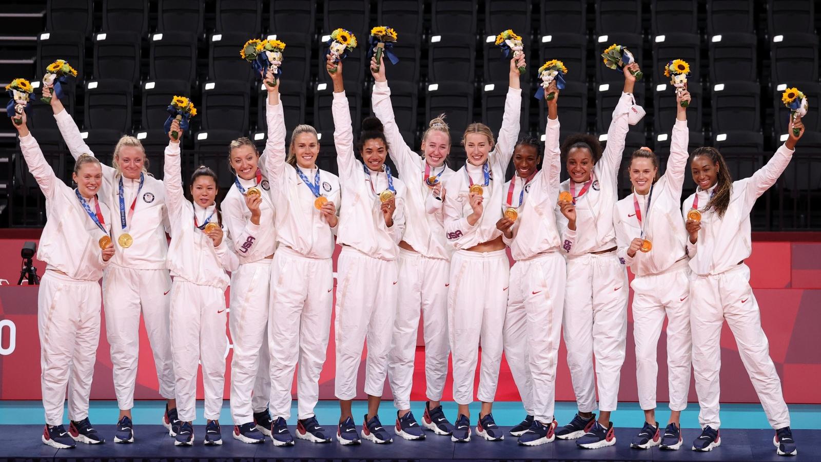 Mỹ chính thức nhất toàn đoàn Olympic Tokyo 2020