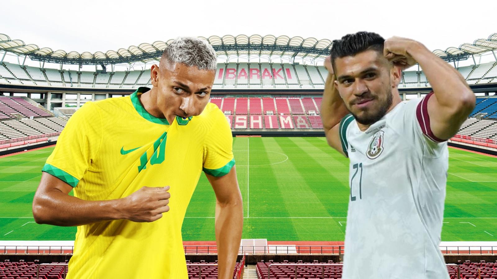 TRỰC TIẾP Brazil vs Mexico: Thuốc thử hạng nặng cho Selecao