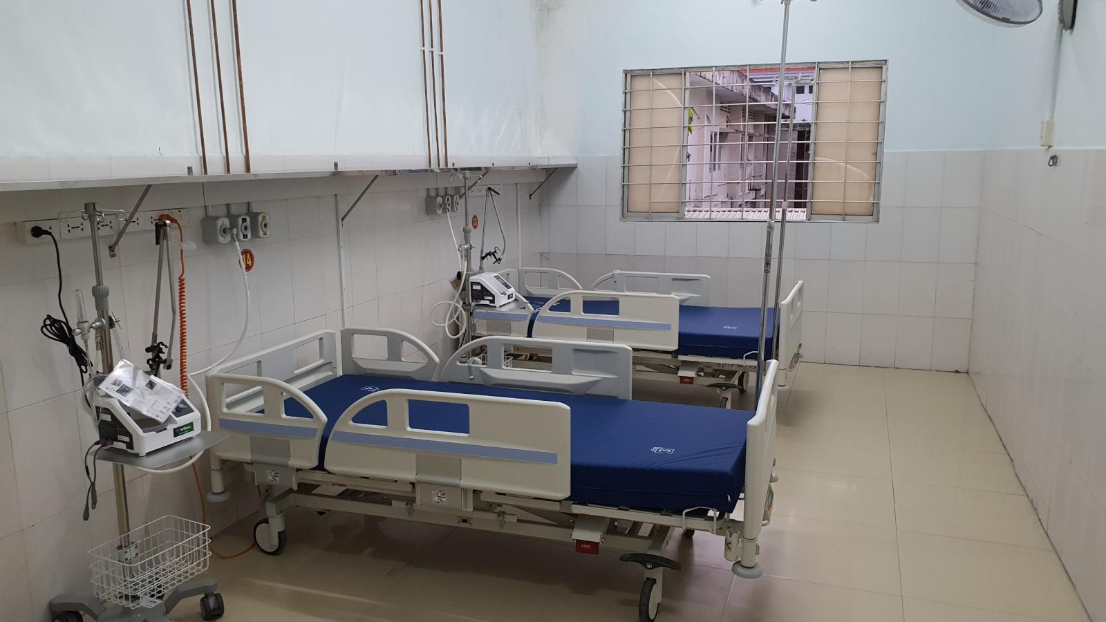 Bộ Y tế đưa vào sử dụng Trung tâm hồi sức tích cực bệnh nhân Covid-19 tại Vĩnh Long
