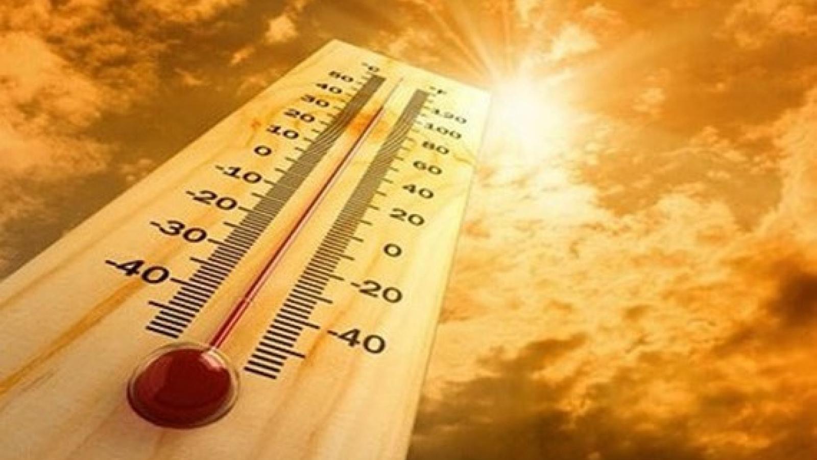 Nắng nóng ở Bắc Bộ có khả năng kéo dài khoảng 4 - 5 ngày tới