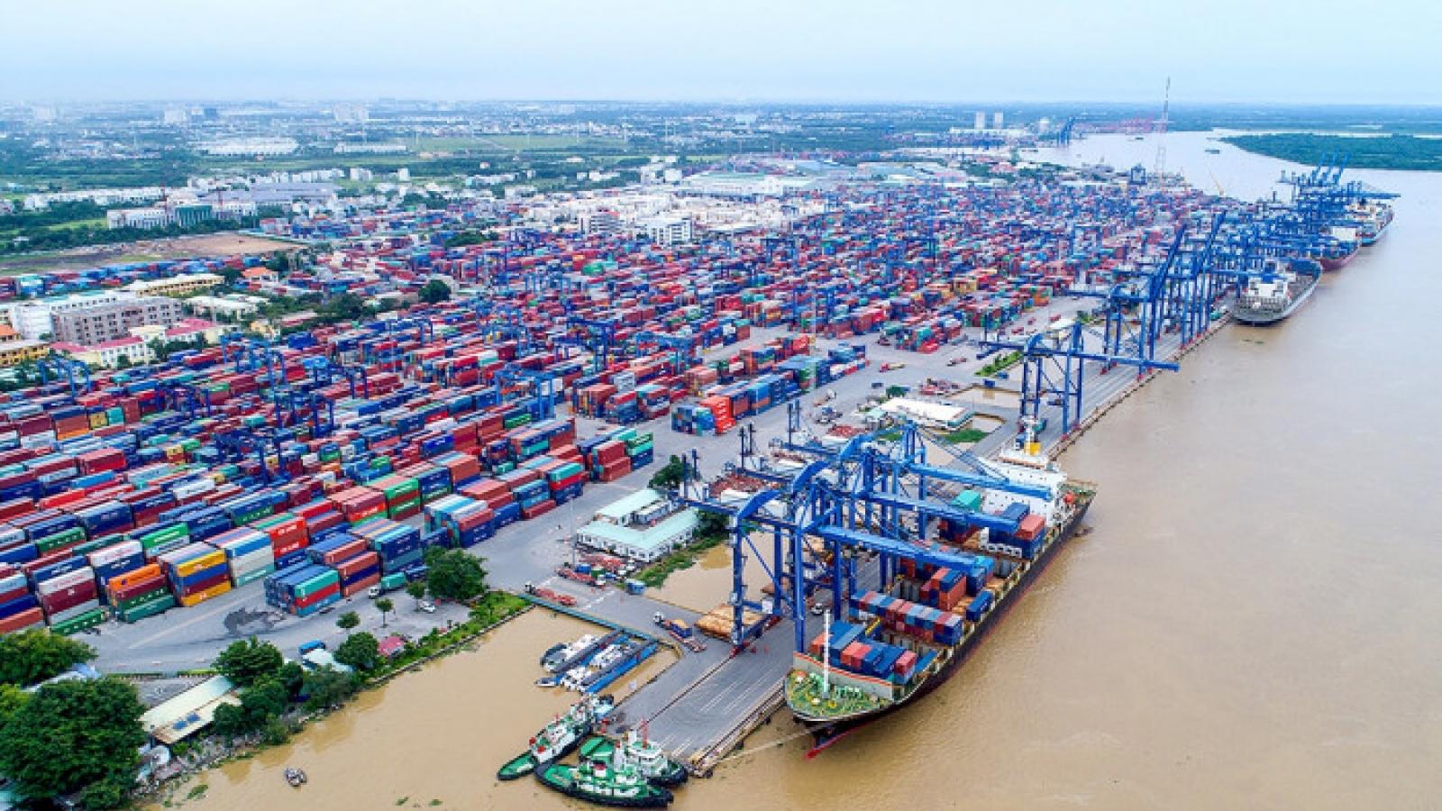 Báo cáo Thủ tướng giải pháp tháo gỡ hàng tồn tại cảng Cát Lái