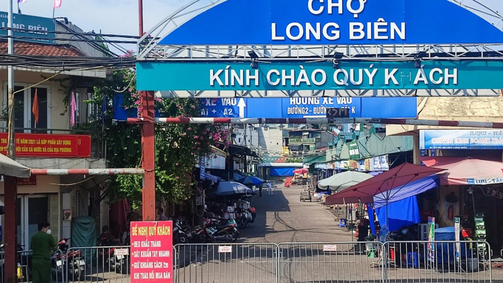 Hà Nội tìm người từng đến phường Phúc Xá, chợ Long Biên (Ba Đình)