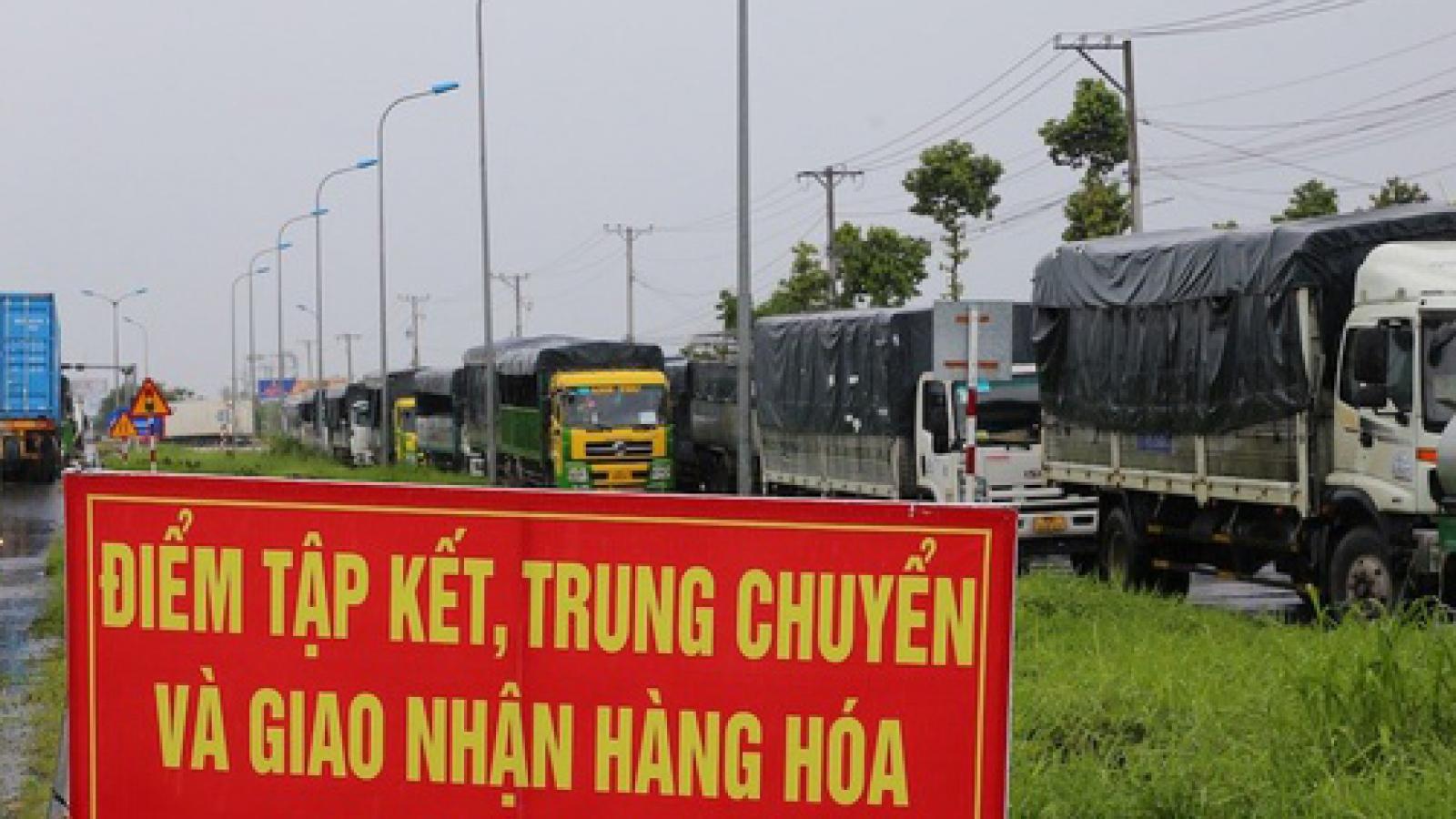 Hà Nội lập 5 điểm trung chuyển hàng hóa vào nội thành