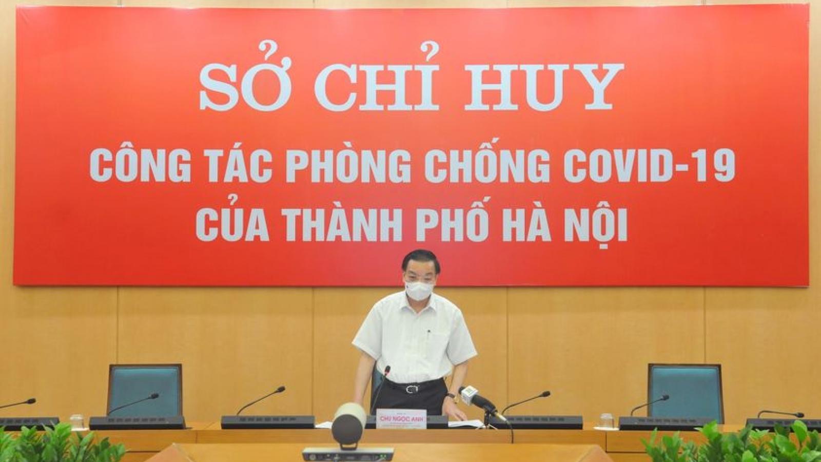 Dịch Covid-19 tại Hà Nội vẫn rất phức tạp, tiếp tục thực hiện nghiêm giãn cách xã hội