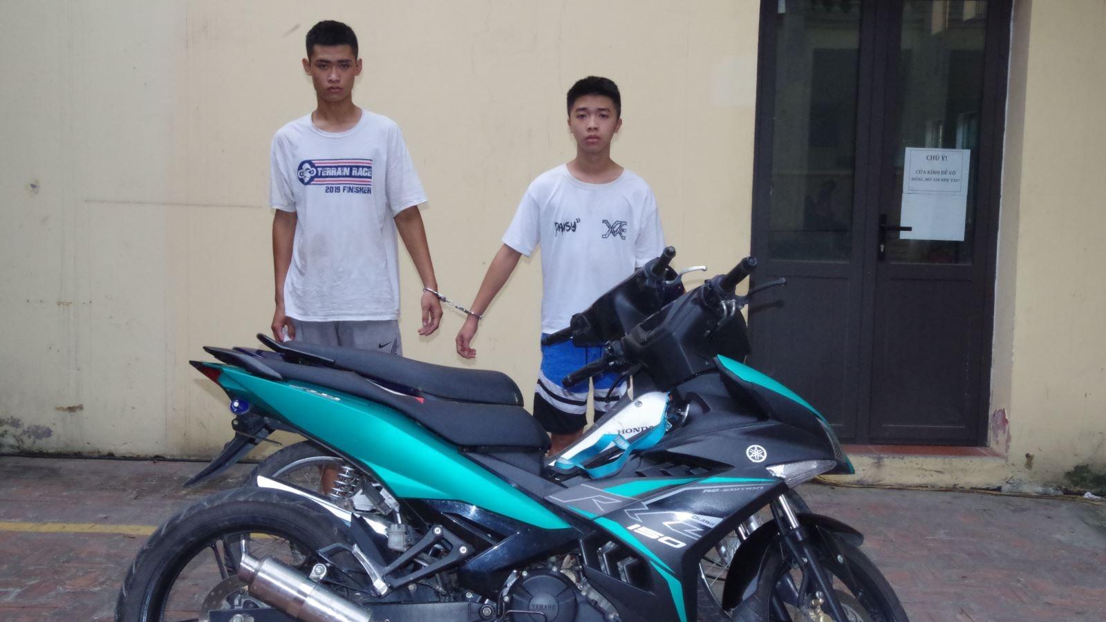 Bắc Ninh bắt 2 đối tượng dùng dao khống chếcướp tài sản sau 48h gây án