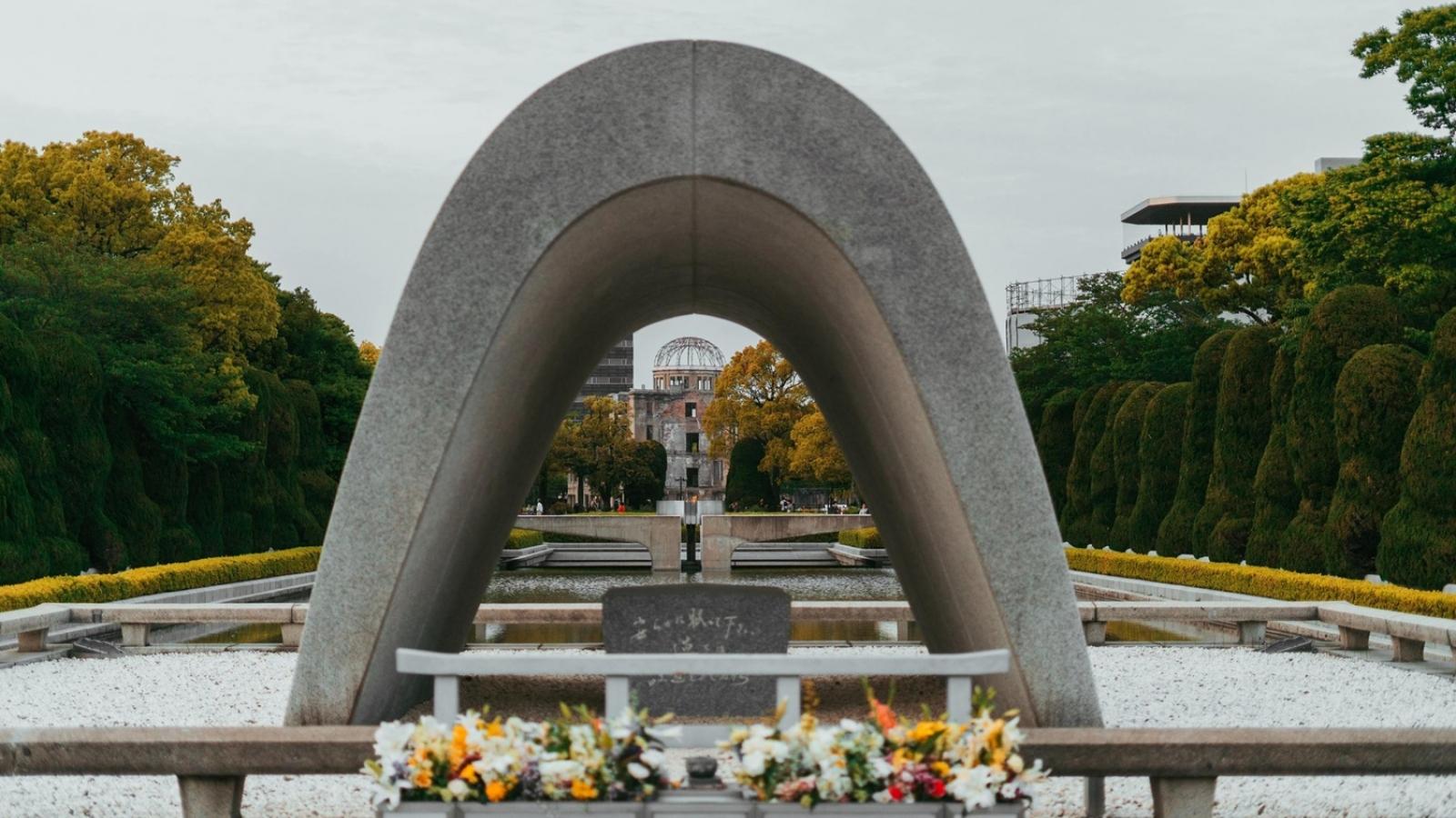Nhật Bản kỷ niệm 76 năm ngày Mỹ ném bom nguyên tử xuống Hiroshima