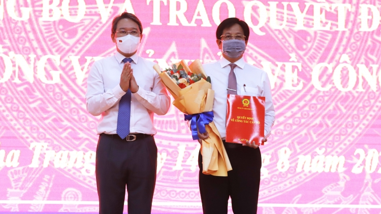 Ông Hồ Văn Mừng được điều động giữ chức Bí thư Thành ủy Nha Trang