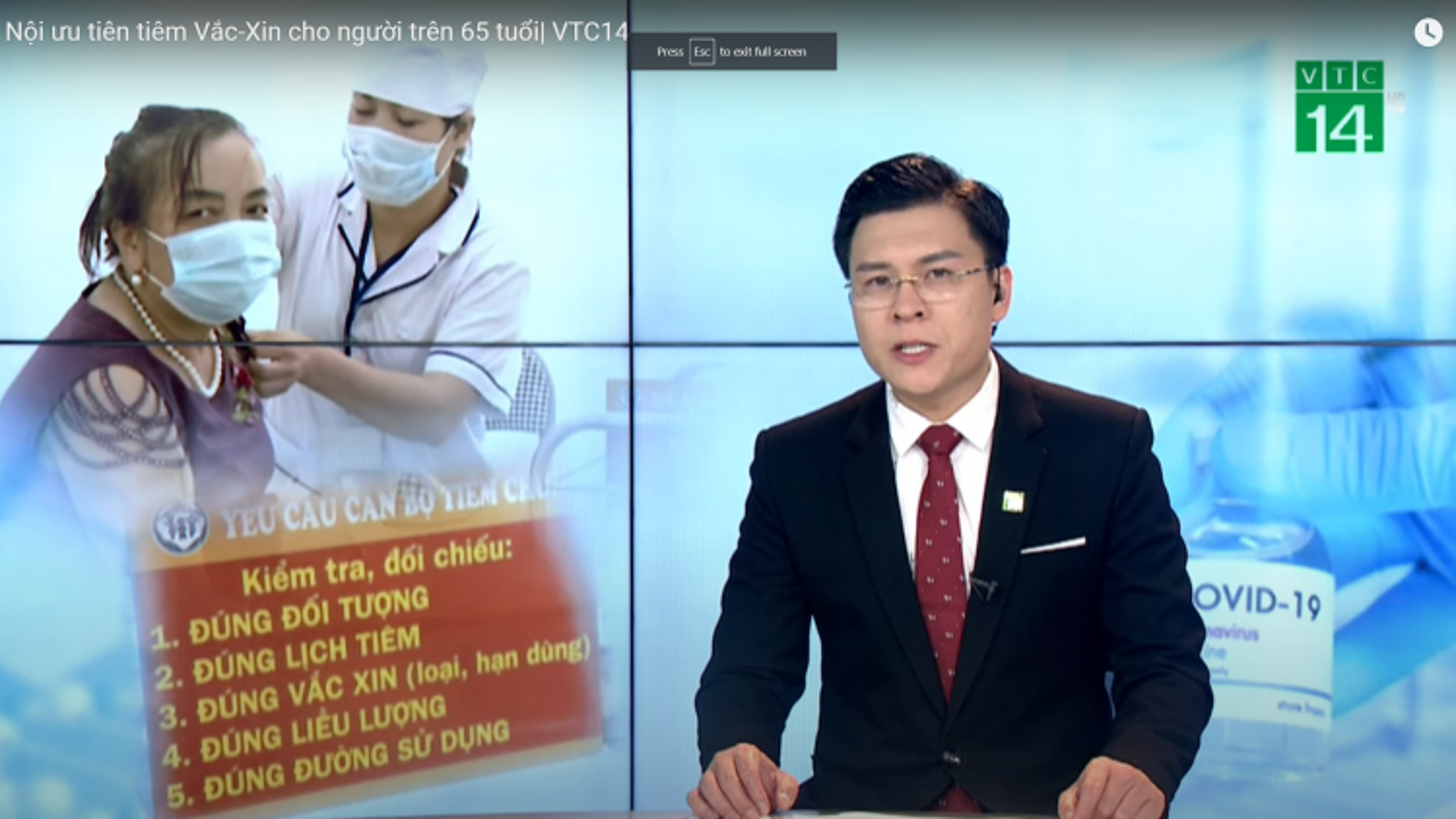 Hà Nội ưu tiên tiêm vaccine cho người trên 65 tuổi