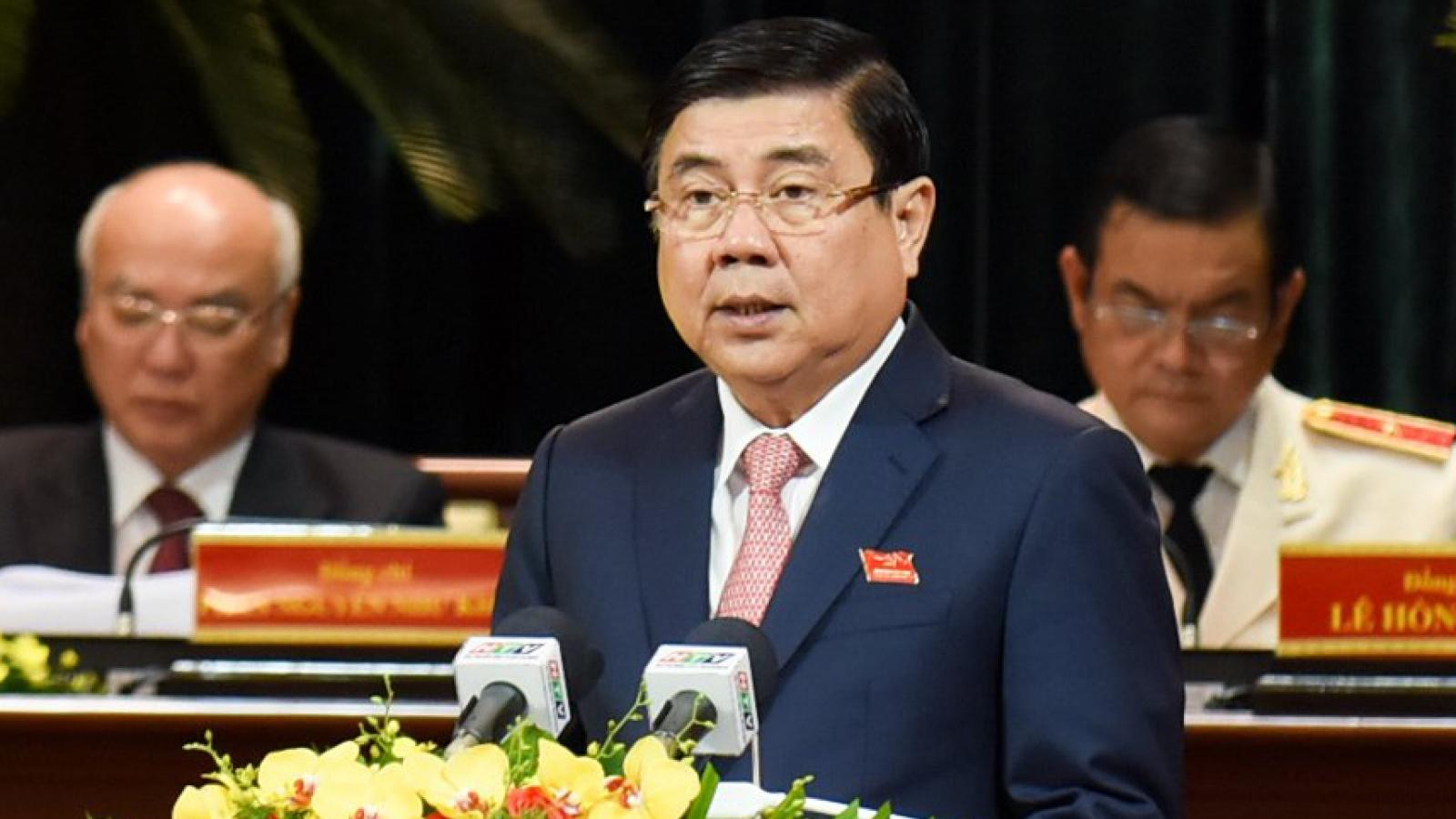 Miễn nhiệm chức danh Chủ tịch UBND TP.HCM với ông Nguyễn Thành Phong