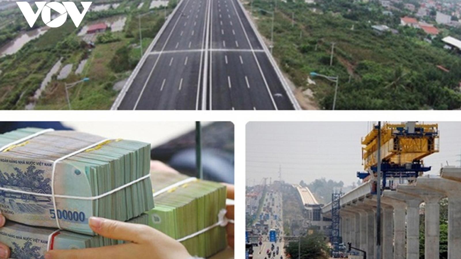 Nguyên liệu đầu vào tăng giá khiến các dự án đầu tư công chậm tiến độ
