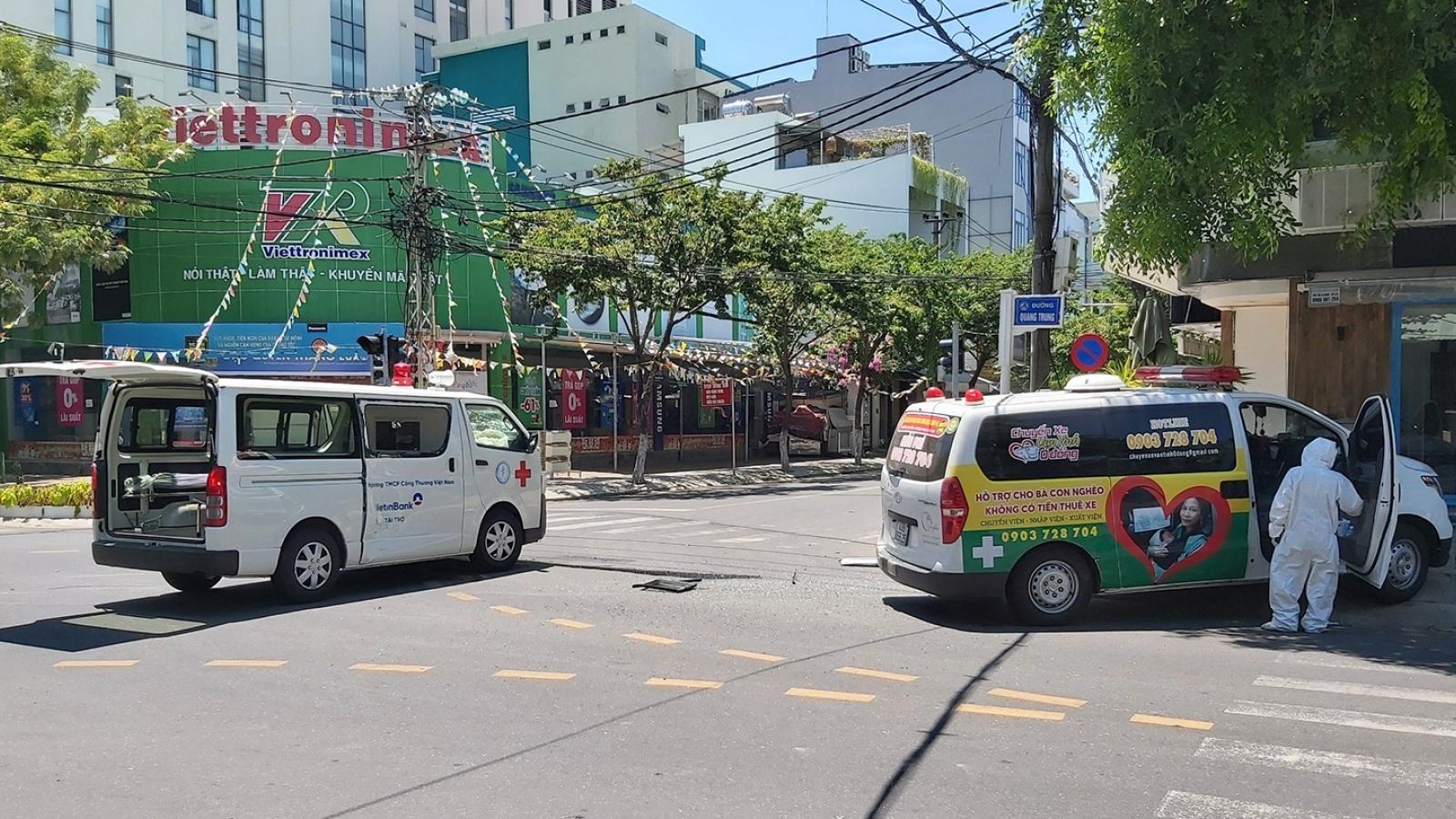2 xe cấp cứu đâm nhau khi đang làm nhiệm vụ ở Đà Nẵng