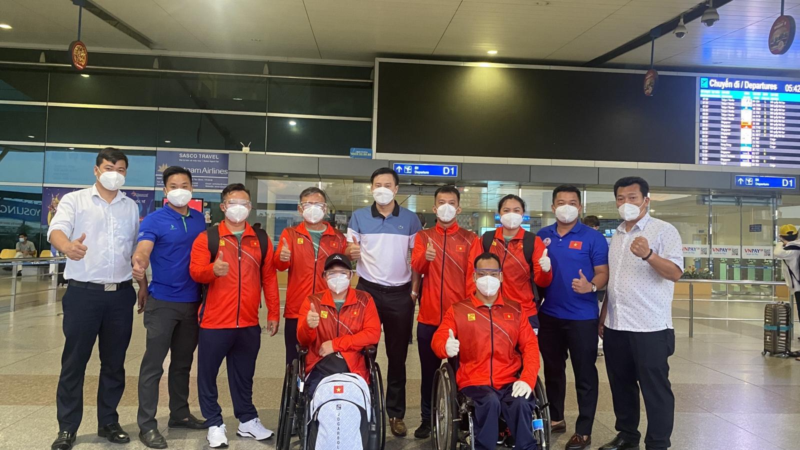 Đoàn TTNKT Việt Nam dự Paralympic Tokyo 2020 đã có mặt ở Nhật Bản
