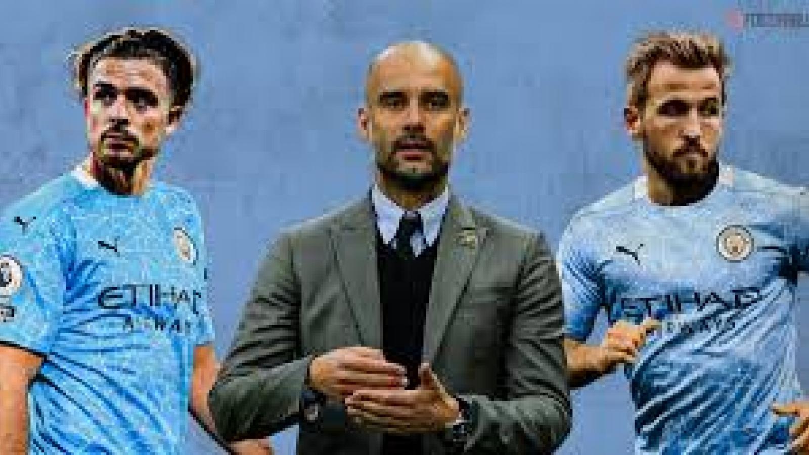 """Đội hình """"siêu tấn công"""" của Man City khi có Harry Kane và Jack Grealish"""