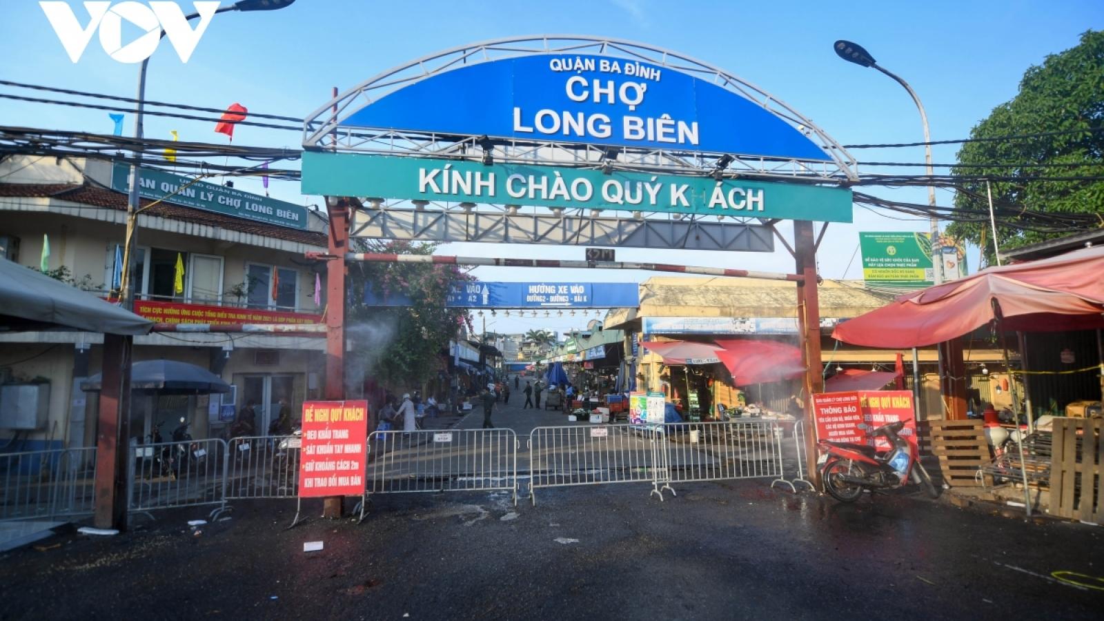 Hà Nội đảm bảo đủ hàng hóa cả khi chợ đầu mối tạm dừng hoạt động