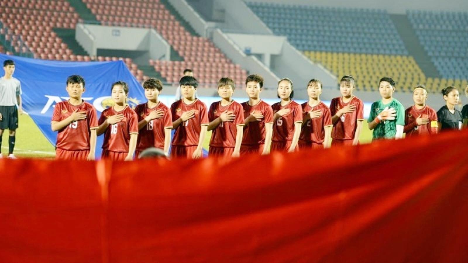 Lịch thi đấu của ĐT nữ Việt Nam tại vòng loại Asian Cup 2022