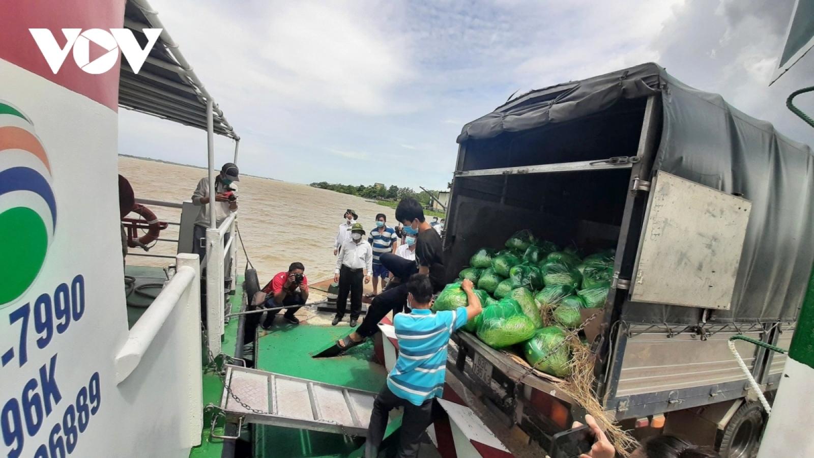 Hơn 400.000 tấn nông sản ở các tỉnh, thành phía Nam vẫn bí đầu ra