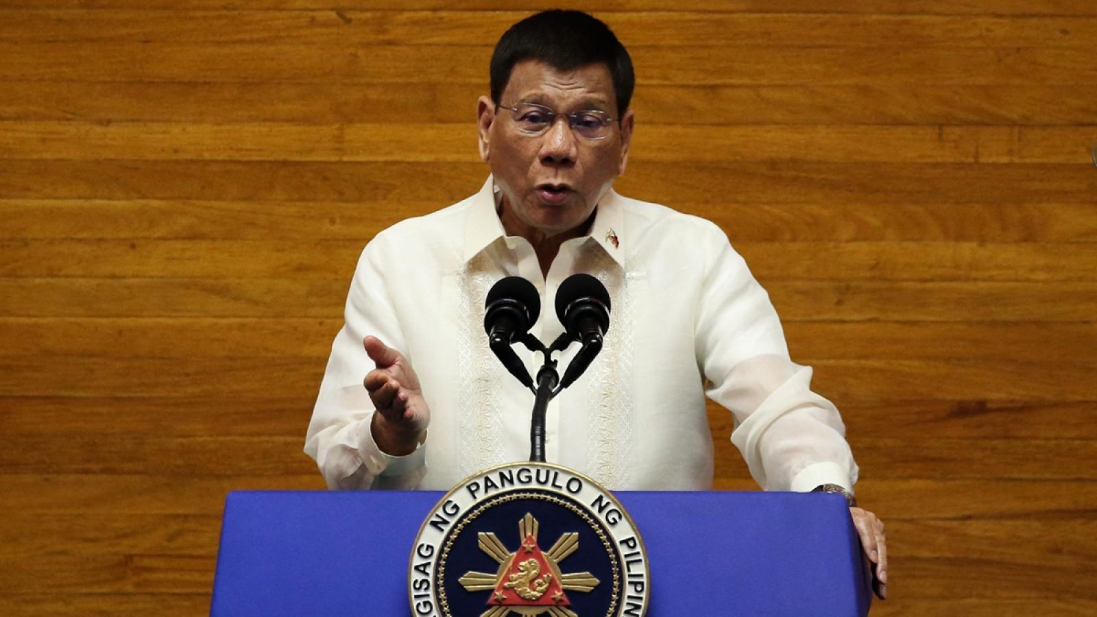Tổng thống Philippines cảm ơn Trung Quốc vì viện trợ vaccine Covid-19