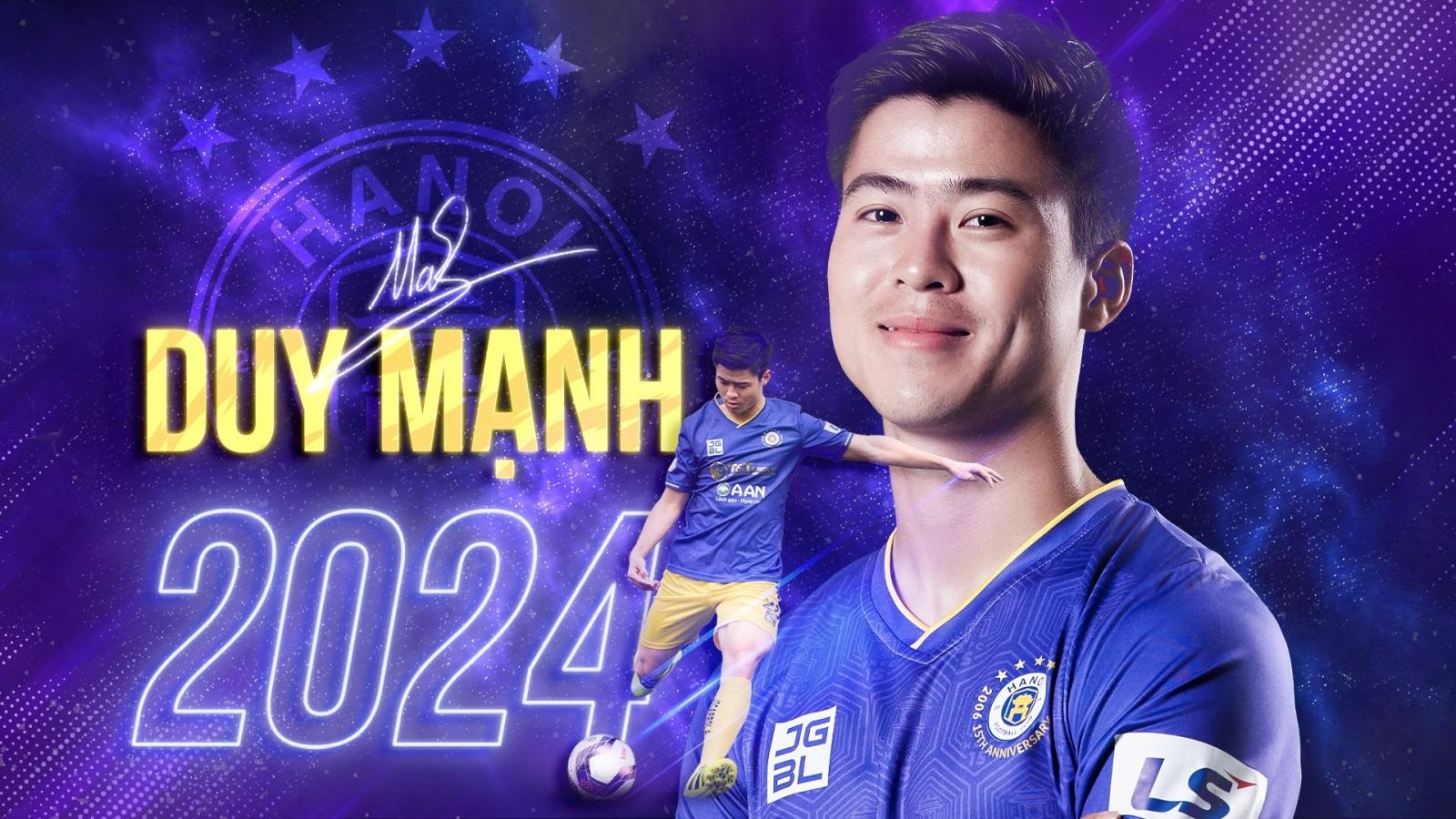 Đỗ Duy Mạnh nói gì khi gia hạn hợp đồng với Hà Nội FC?