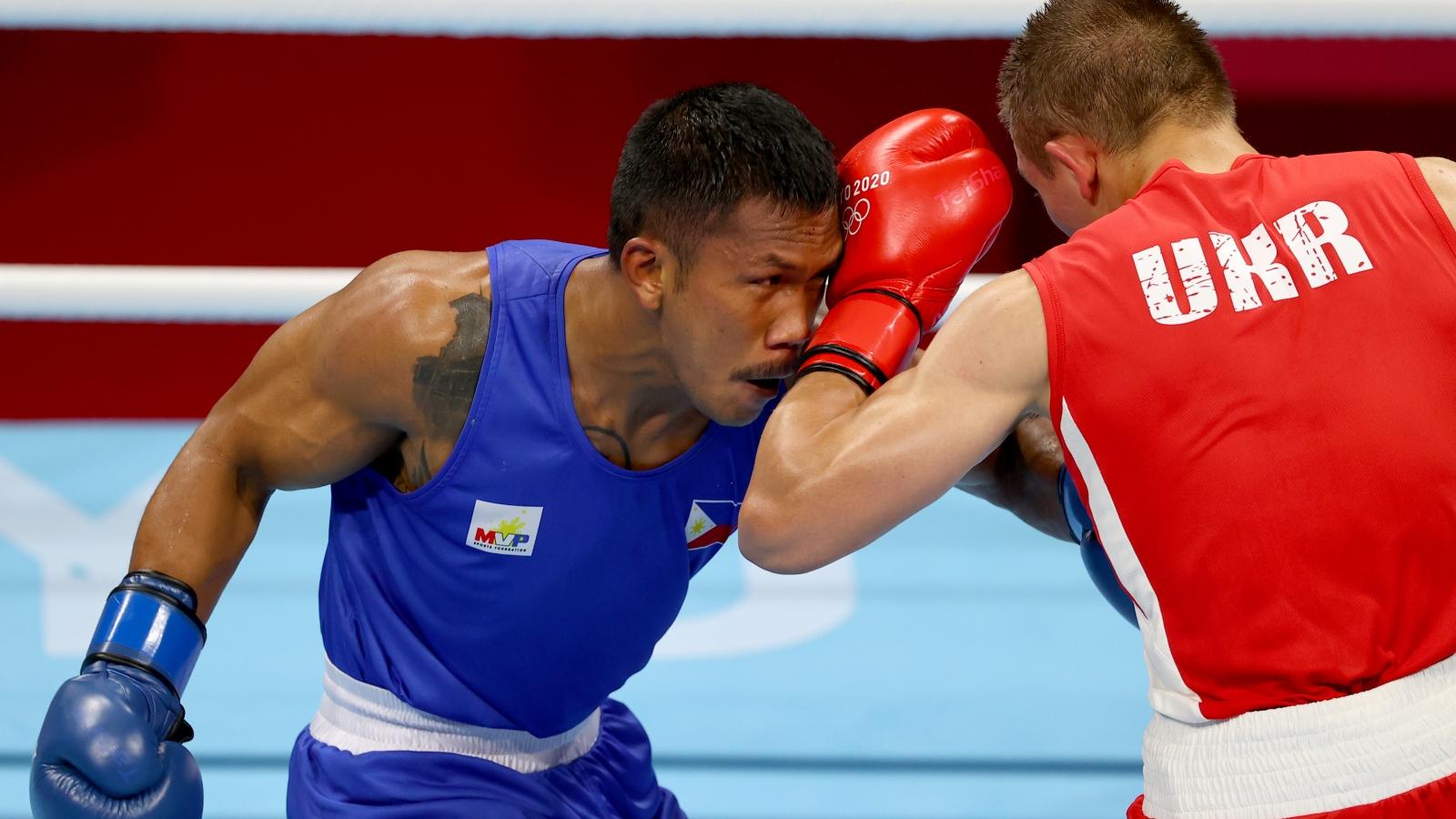 Thái Lan và Philippines có thêm huy chương Olympic ở môn boxing