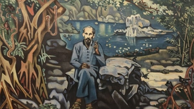 Online painting exhibition features August Revolution victory